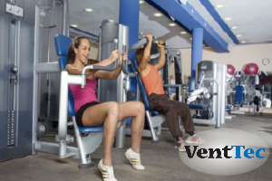 Fitness Centers - Duct Cleaning and Aeroseal Duct Sealing